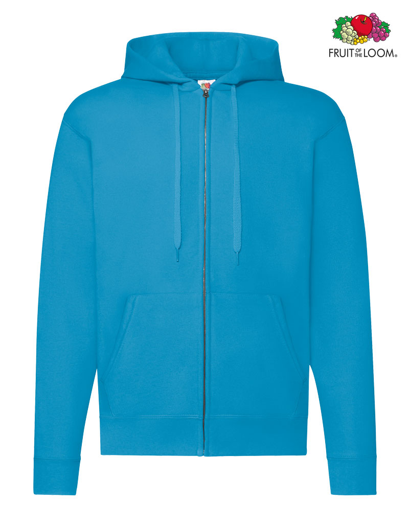 48012b16bbf74 Classic Zip Hooded Sweat-Jacke hooded