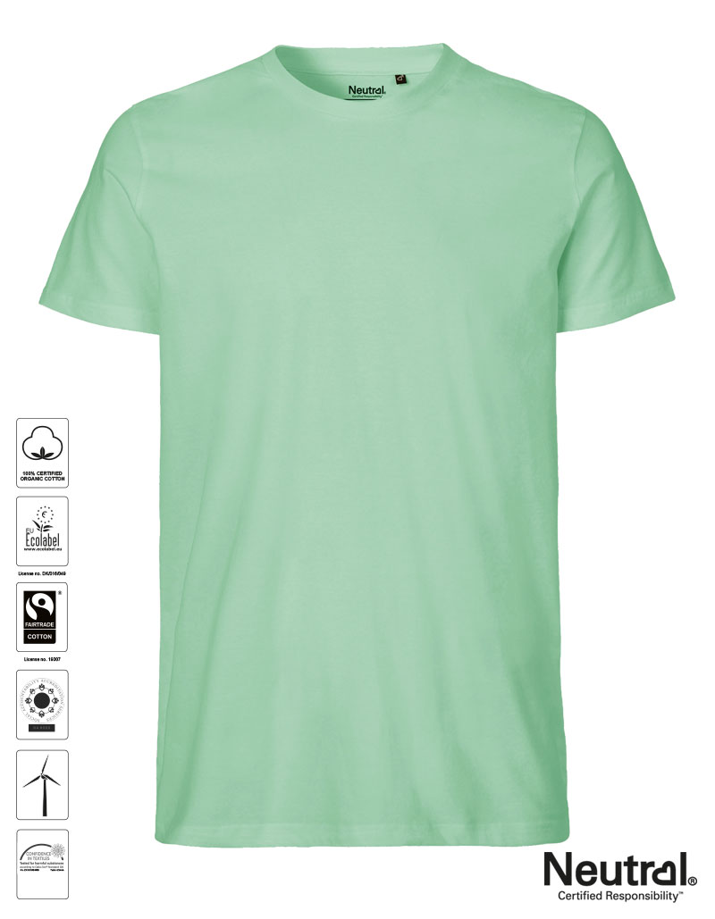 Neutral Damen Fitted T-Shirt Fairtrade Baumwolle Bio