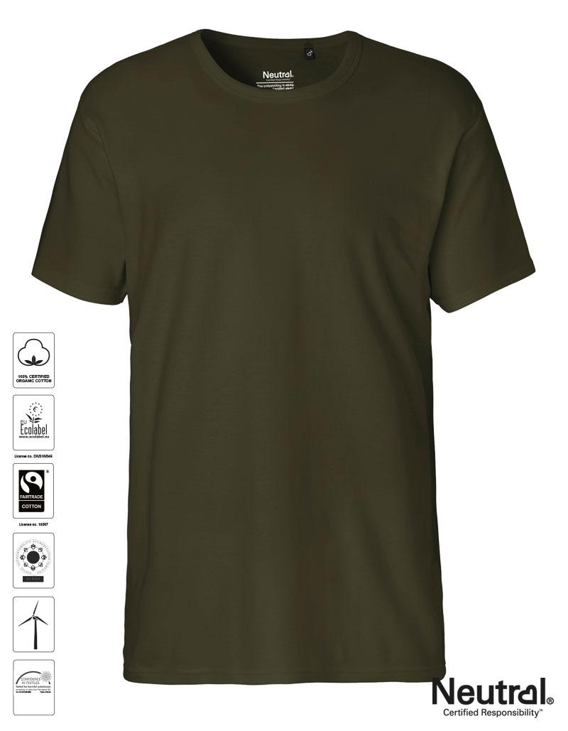 21a7c59af NEUTRAL® Men Interlock T-Shirt Organic-Fairtrade Cotton - Carson ...