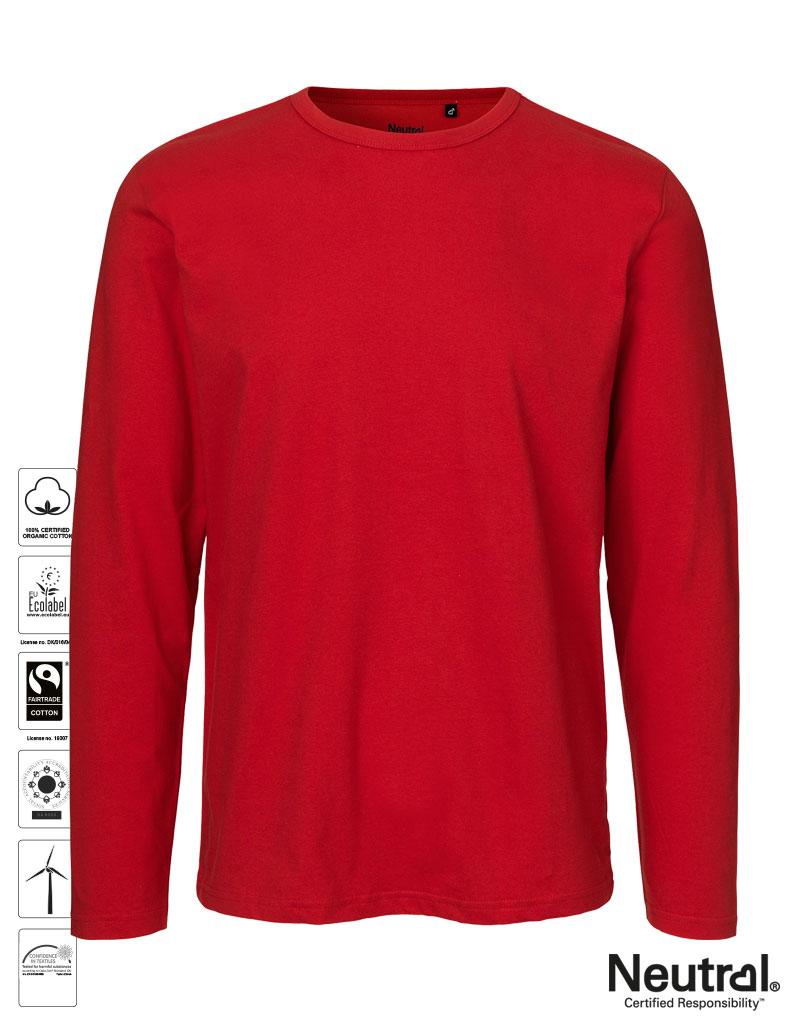 6b69ed1f23e1ec NEUTRAL® He. Langarm T-Shirt aus Bio-Fairtrade Baumwolle - Carson ...