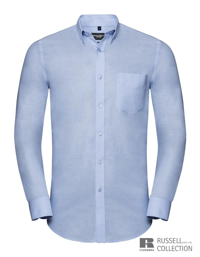 Oxfordhemd, Hemd Rundkragen